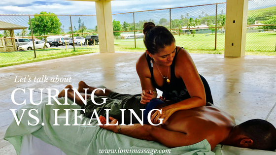Healing vs. Curing
