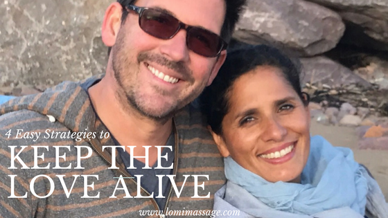 4 Easy Strategies to Keep the Love Alive in your Partnership