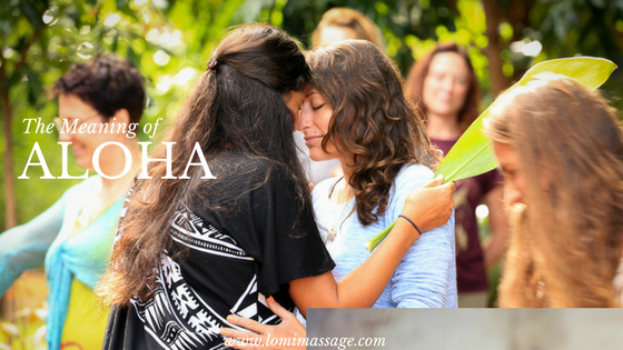 The meaning of Aloha